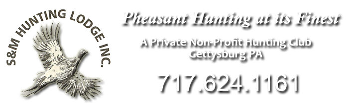 Pheasant and Quail Hunting Gettysburg PA Southern PA - S&M